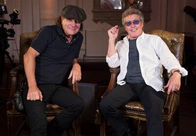 Brian Johnson en Roger Daltrey