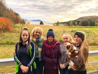 Veerle en haar dochters