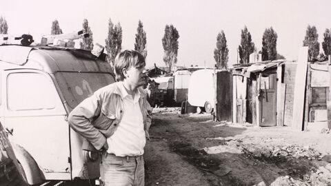 Jef Cornelis tijdens de opnamen van 'Waarover men niet spreekt' (1968)
