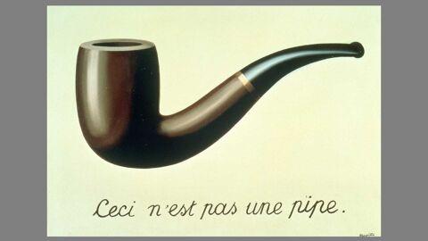René Magritte, La trahison des images, 1929