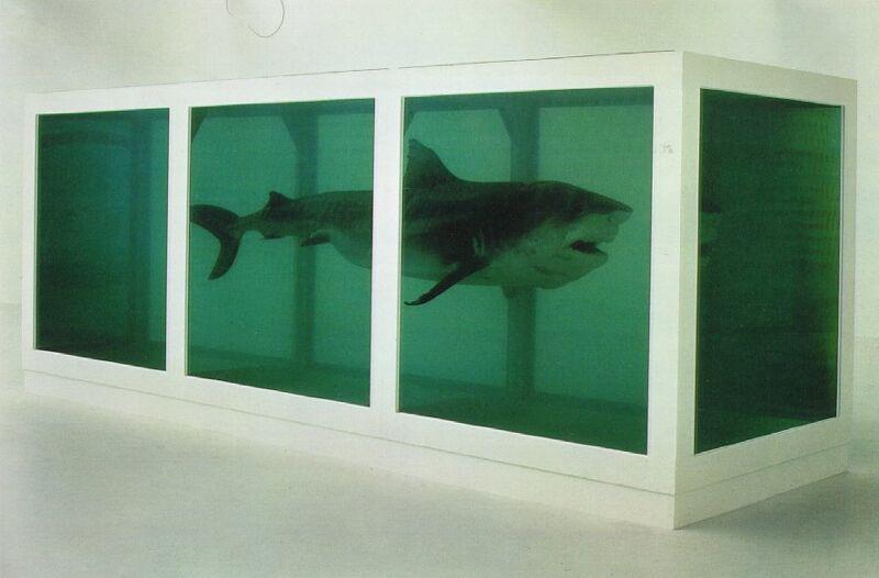 Meer en meer mensen bestellen een replica van dit werk van Damien Hirst, dat het prima doet in de meeste modern ingerichte livings.