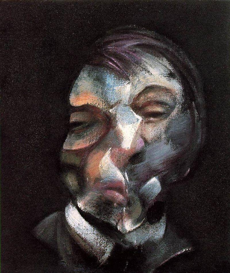 Francis Bacon 1971 self portrait