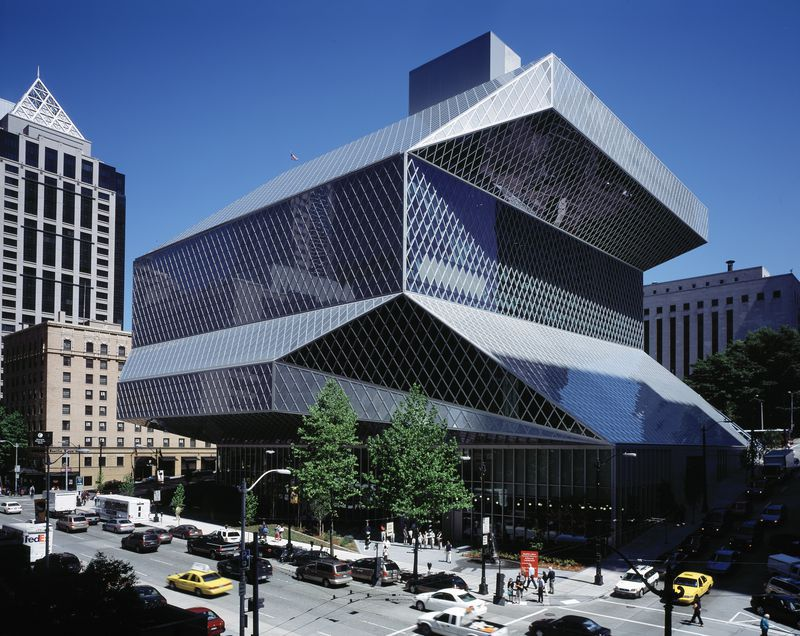Central Library, Seattle. 1999-2004.