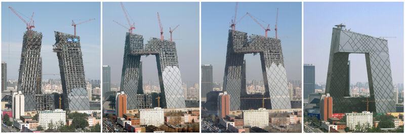 China Central Television CCTV, Peking. 2004-2012.