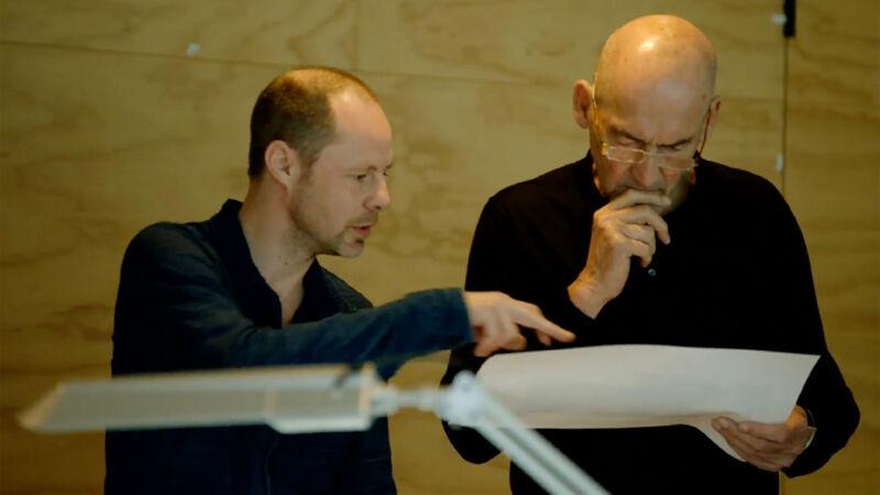 Chris van Duijn en Rem Koolhaas (OMA)