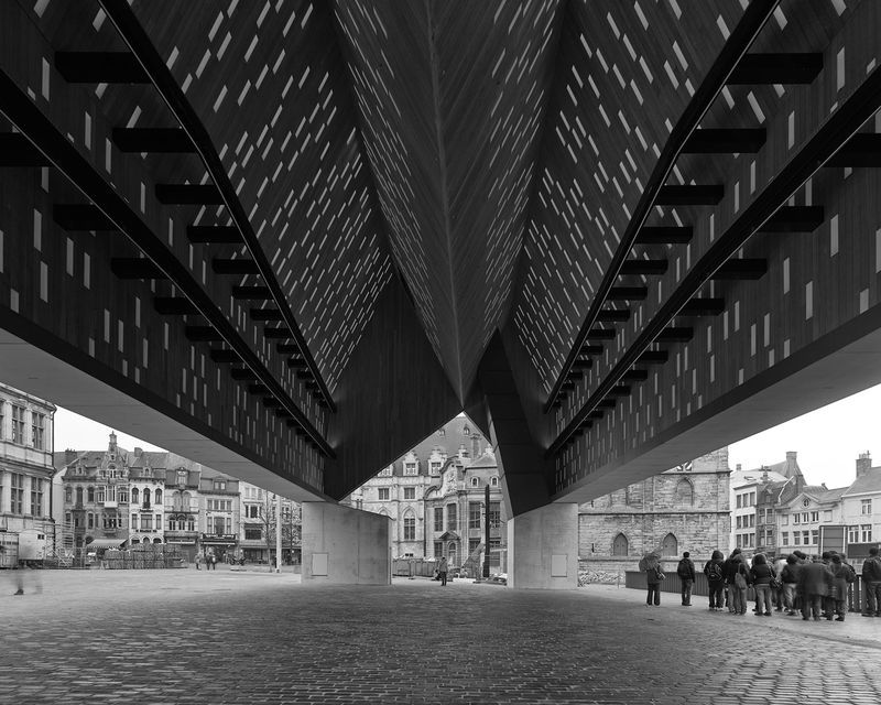 Stadshal, Gent. 2010-2012.