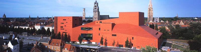 Concertgebouw, Brugge. 1999-2002.