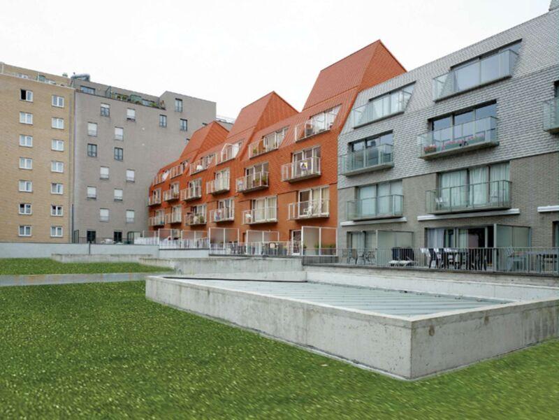 Residentie De Boei, Middelkerke. 2003-2005.