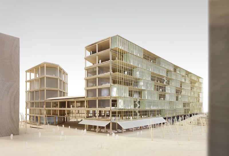 Maquette VRT-gebouw