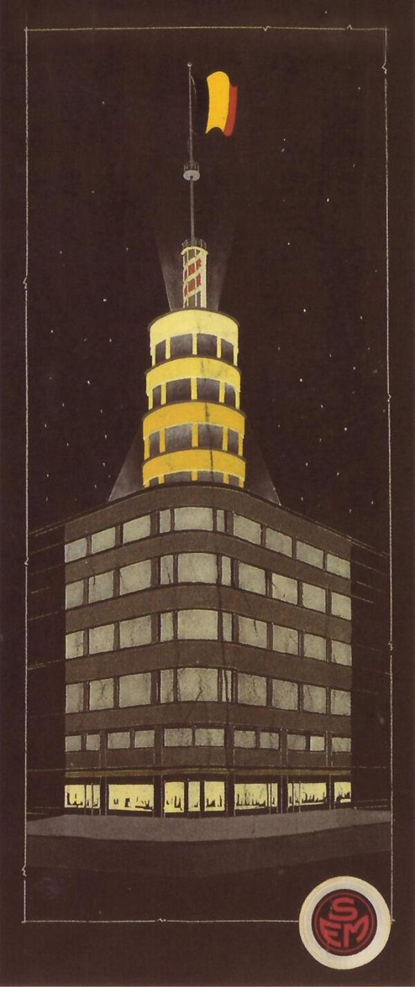 Flageygebouw, torenontwerp