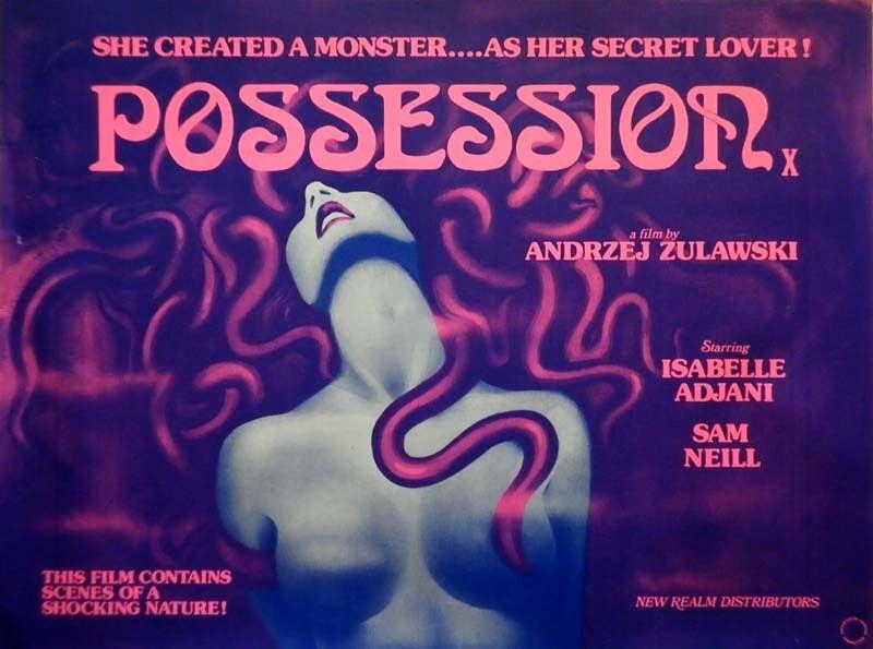Voorzichtigheid is geboden als je 't aanlegt met een getentakelde. Dat ondervindt ook Isabelle Adjani in deze psychologische horrorfilm uit 1981.
