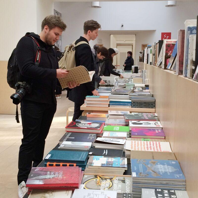 Sint Lucas Antwerpen in de bookshop
