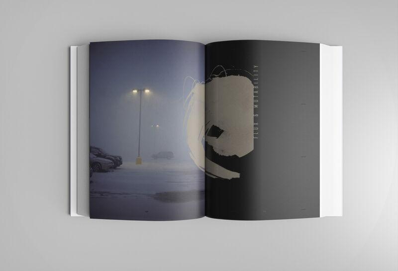 Sylvians boek vol liedteksten, gedichten, foto's en art work: 'Hypergraphia'