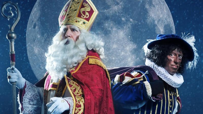 Sinterklaas en Zwarte Piet in de film 'Ay Ramon!'