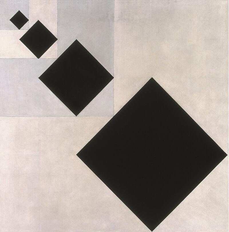 Theo van Doesburg, Arithmetische compositie