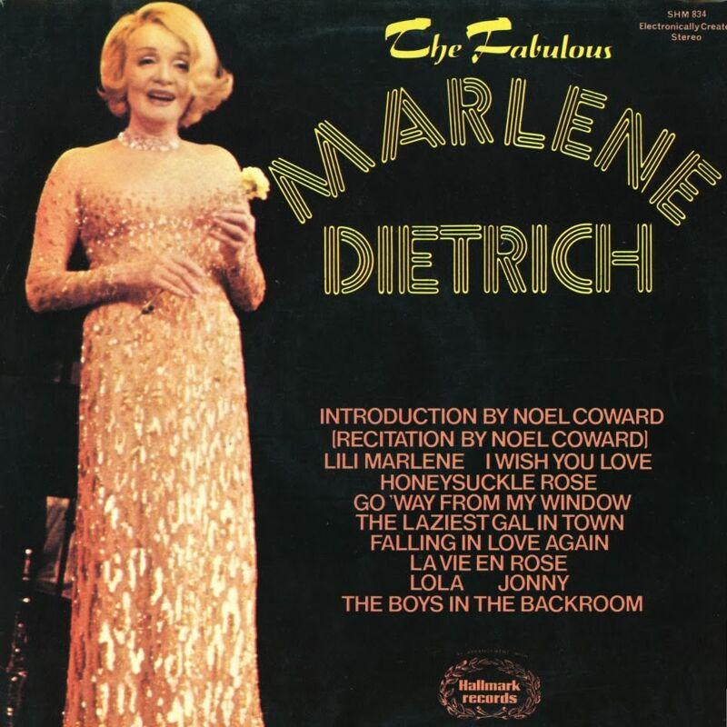 Op aanraden van Frank Sinatra ging Marlène Dietrich op tournee met de nummers uit haar films. Zo startte ze een succesvolle tweede carrière.