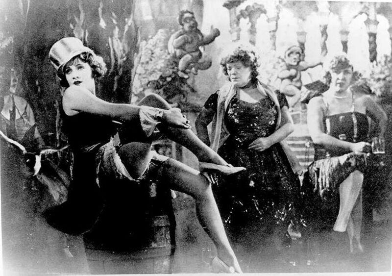 Dietrich maakte haar debuut in 'Der Blaue Engel'