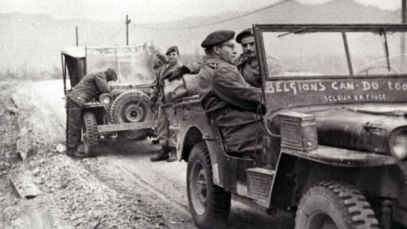 Belgische soldaten tijdens de Korea-oorlog