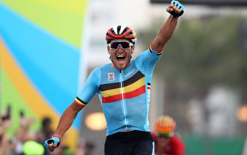 Wielrenner Greg Van Avermaet werd olympisch kampioen op de weg in Rio de Janeiro.