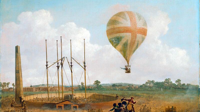 De ballonvaart van Vincenzo Lunardi