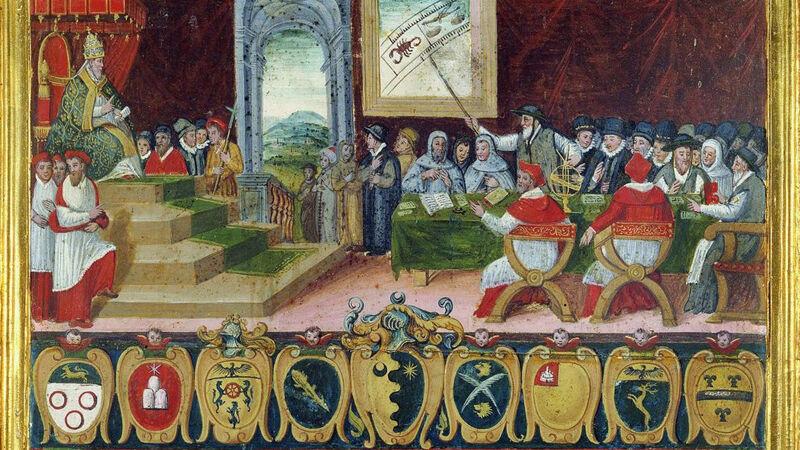 De uitvaardiging van de pauselijke kalender (1582)