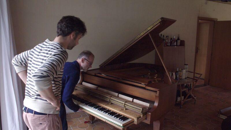 Een nieuwe piano