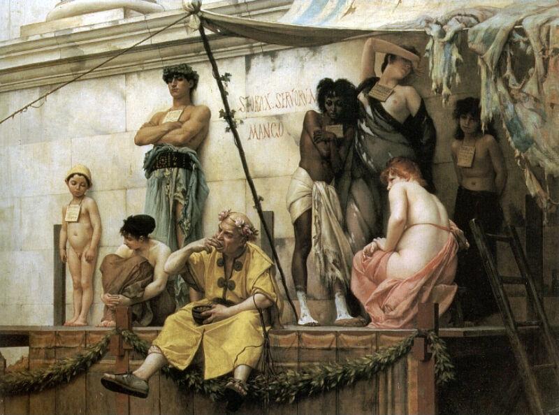 Gustave Boulanger - Le marché aux esclaves