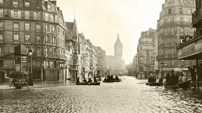 Venetiaans tafereel in de Rue de Lyon