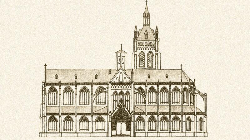Kathedraal Notre-Dame van Thérouanne, hypothetische reconstructie