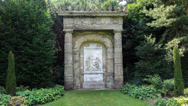 The Shepherd's Monument, Shugborough Estate