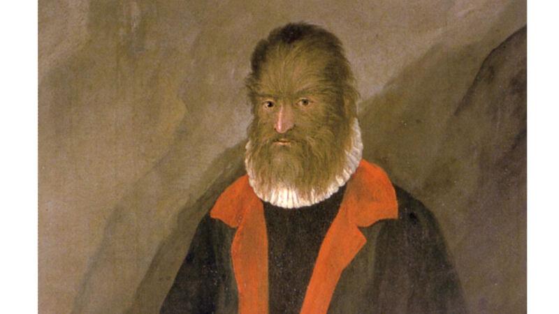 Anoniem Duits kunstenaar: Petrus Gonsalvus