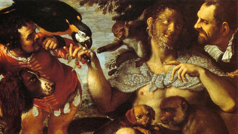 Agostino Carracci: voorstelling met Enrique Gonsalvus
