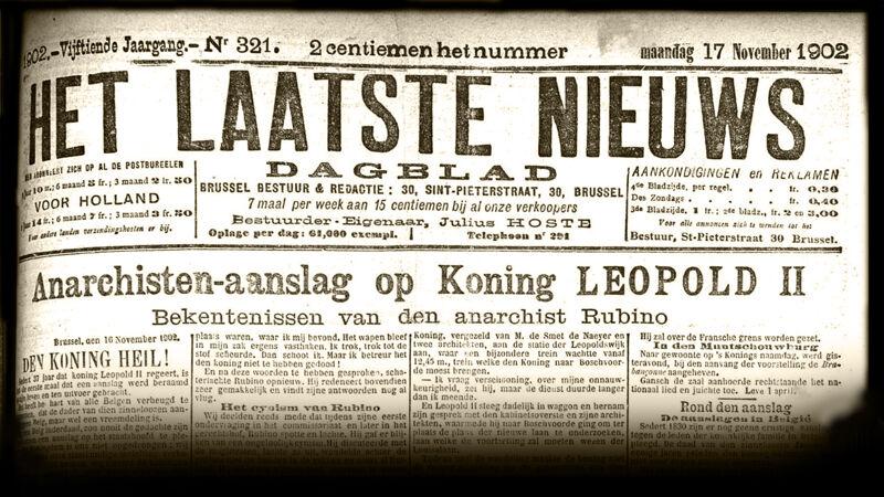 Voorpagina 17 november 1902