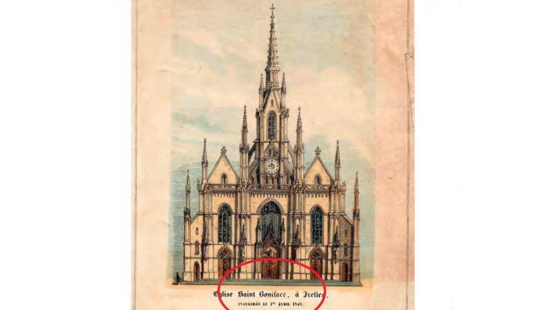 Sint-Bonifatius: gewijd op 1 april!
