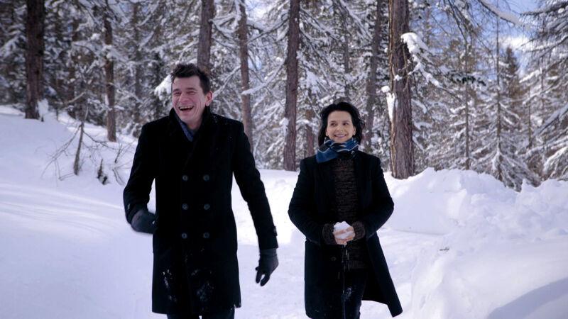 Dimitri en Juliette Binoche