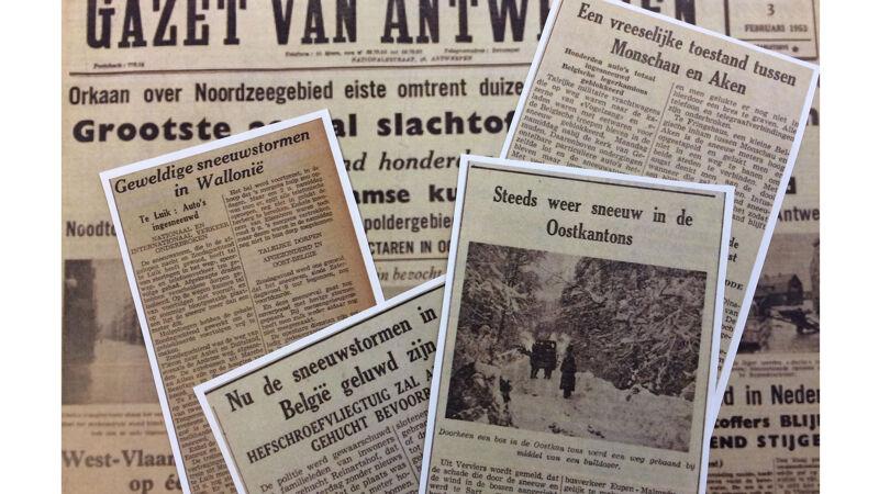 Krantenkoppen, februari 1953