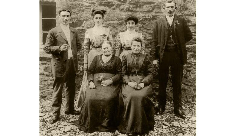 Oude familiefoto uit Reinartzhof