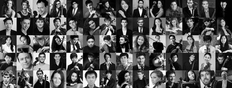 De jury selecteerde 70 jonge cellisten.