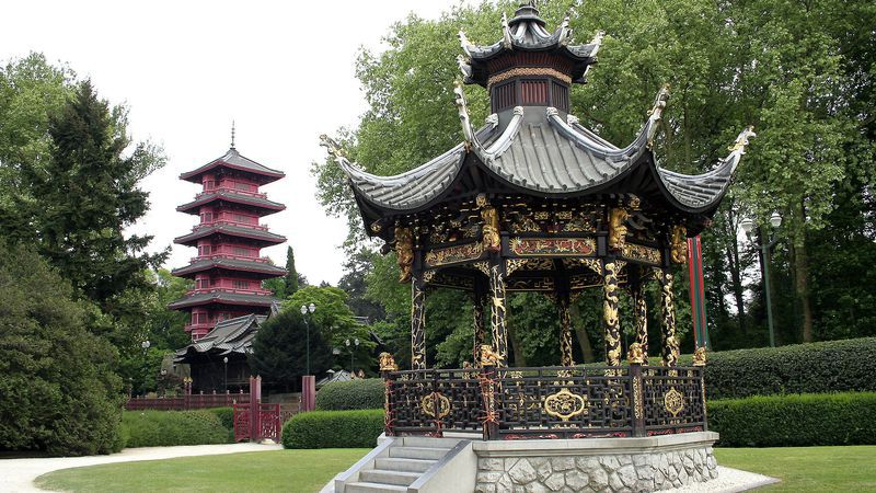 De Japanse Toren en de Chinese Kiosk