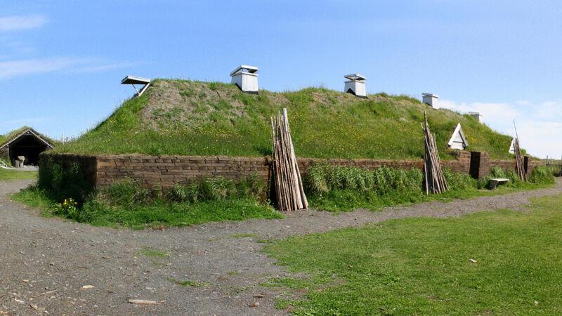 Vikingdorp (reconstructie)