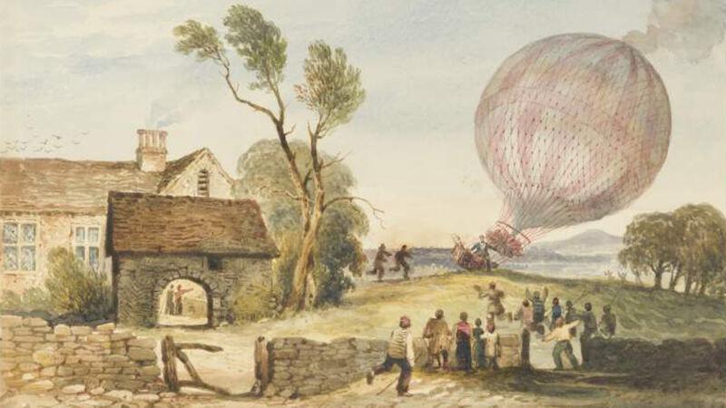 De landing van Baldwin in Lancashire