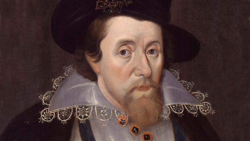 Portret van koning James I