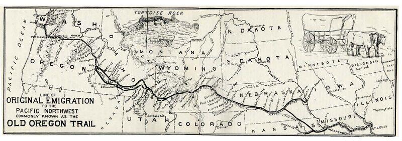 De Oregon Trail