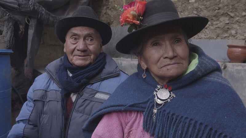 Mijnwerker en zijn vrouw
