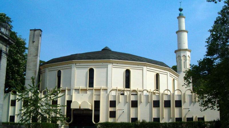 De Grote Moskee zoals hij er nu uitziet