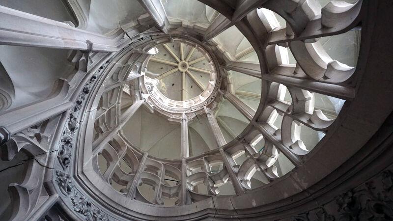 Gotische spiraaltrap