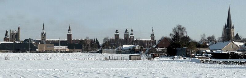 'Torekenswaver' in de sneeuw