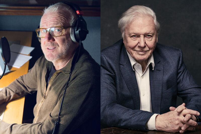 Vic De Wachter en David Attenborough