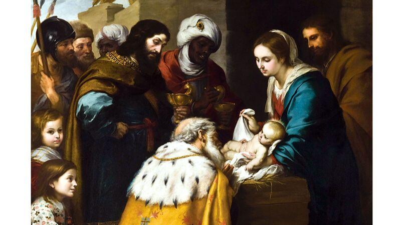 Bartolomé Murillo: Aanbidding der wijzen (ca. 1660)