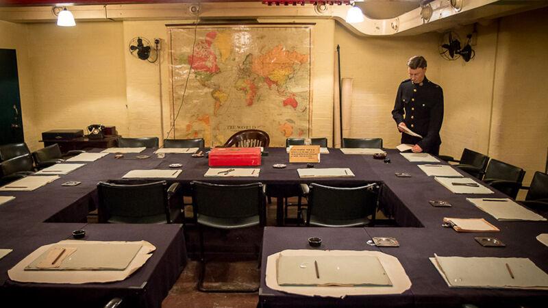Cabinet War Room, de vergaderzaal